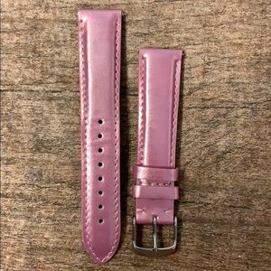 Michele pink watch strap- 18mm